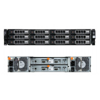Storage DAS DELL PowerVault MD1200, 12 x 3,5 LFF + Perc H800/1GB + 2 x Mini SAS Cable(0.5M)