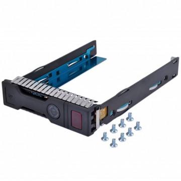 Caddy / Sertar pentru HDD server HP Gen8/Gen9, 3.5 inch, LFF, SAS/SATA Componente Server
