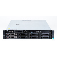 Server DELL PowerEdge R510, Rackabil 2U, 2x Intel Hexa Core Xeon X5650 2.66GHz - 3.06GHz, 64GB DDR3 ECC Reg, 4x 146GB HDD SAS/15K + 4x 2TB HDD SATA, Raid Controller SAS/SATA DELL Perc H700/512MB, iDRAC 6 Enterprise, 2x Sursa HS