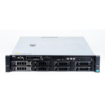 Server DELL PowerEdge R510, Rackabil 2U, 2x Intel Hexa Core Xeon X5650 2.66GHz - 3.06GHz, 64GB DDR3 ECC Reg, 4x 146GB HDD SAS/15K + 4x 2TB HDD SATA, Raid Controller SAS/SATA DELL Perc H700/512MB, iDRAC 6 Enterprise, 2x Sursa HS, Second Hand Servere second