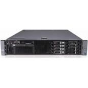 Server Dell PowerEdge R710, 2x Intel Xeon Hexa Core X5675 3.06 - 3.46GHz, 16GB DDR3 ECC, 2 x 146GB SAS - 2.5 Inch, Raid Perc SAS6i, Idrac 6 Enterprise, 2 surse redundante, Second Hand Servere second hand
