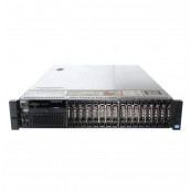 Server Dell PowerEdge R720, 2x Intel Xeon Hexa Core E5-2640 2.50GHz - 3.00GHz, 128GB DDR3 ECC, 2 x 900GB HDD SAS/10K + 6 x 1.2TB SAS/10k, Raid Perc H710 mini, Idrac 7, 2 surse HS, Refurbished Servere second hand