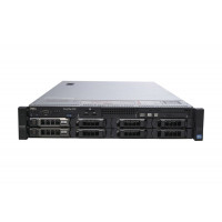 Server Dell PowerEdge R720, 2x Intel Xeon Deca Core E5-2650L V2 1.70GHz - 2.10GHz, 64GB DDR3 ECC, 2x 3TB HDD SATA + 4 x 2TB HDD SATA, Raid Perc H710 mini, Idrac 7 Enterprise, 2 surse HS