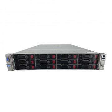 Server HP ProLiant DL380p G8 2U, 2x CPU Intel Hexa Core Xeon E5-2620 v2 2.10GHz - 2.60GHz, 32GB DDR3 ECC, 4x2TB SATA/7.2K, Raid P420/1GB, 2 Port x10 Gigabit SFP, 1000PT Quad Port Server Adapter PCIe, Second H