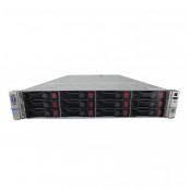 Server HP ProLiant DL380p G8 2U, 2xCPU Intel Hexa Core Xeon E5-2620 2.0GHz-2.5GHz, 64GB DDR3 ECC Reg, 2x2TB SAS/7.2K/3.5, Raid P420/1GB, iLO4 Advanced, 2 Port x10 Gigabit SFP, 2xSurse Hot Swap + 2 CADOURI: Placa retea 4 porturi Gigabit si 2xCaddy 3.5 G8,