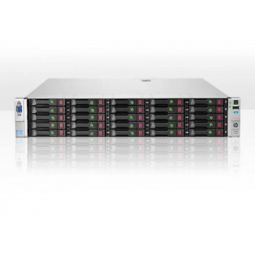Server HP ProLiant DL380p G8 2U 2xIntel Hexa Core Xeon E5-2620 2.0GHz-2.5GHz, 384GB DDR3 ECC Reg, 2 x SSD 512GB SATA + 23x1.2TB SAS/10K/2,5, Raid P420/1GB, iLO 4 Advanced, 2xSurse Hot Swap, Refurbished Servere second hand