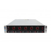 Server HP ProLiant DL560 G8 2U, 4 x CPU Intel Hexa Core Xeon E5-4610 2.40GHz - 2.90GHz, 128GB DDR3 ECC, 2 X SSD 240GB, Raid P420i/1GB, iLO4 Advanced, 4 Port xGigabit, 2x Surse Hot Swap, Refurbished Servere second hand