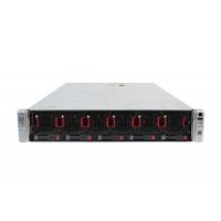 Server HP ProLiant DL560 G8 2U, 4 x CPU Intel Hexa Core Xeon E5-4610 2.40GHz - 2.90GHz, 32GB DDR3 ECC, 2 X SSD 240GB, Raid P420i/1GB, iLO4 Advanced, 4 Port xGigabit, 2x Surse Hot Swap