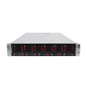 Server HP ProLiant DL560 G8 2U, 4 x CPU Intel Hexa Core Xeon E5-4610 2.40GHz - 2.90GHz, 32GB DDR3 ECC, 2 X SSD 240GB, Raid P420i/1GB, iLO4 Advanced, 4 Port xGigabit, 2x Surse Hot Swap, Refurbished Servere second hand