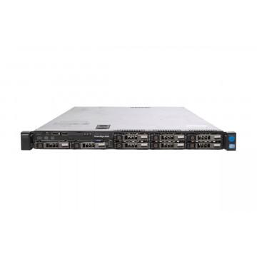 Server Dell PowerEdge R320, 1x Intel Xeon Hexa Core E5-2440, 2.40GHz - 2.90GHz, 16GB DDR3 ECC, 2 x 600GB HDD SAS/10K, DVD-ROM, Raid Perc H710 mini, Idrac 7 Enterprise, 2 surse HS, Second Hand Servere second hand