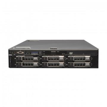 Server Dell PowerEdge R710, 2x Intel Xeon Quad Core E5504, 2.0GHz, 64GB DDR3 ECC, 2x 2TB SAS/7,2K + 4 x 450GB SAS/10K, Raid Perc 6i, Idrac 6 Express, 2 surse redundante Servere second hand