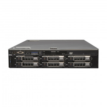 Server Dell PowerEdge R710, 2x Intel Xeon Quad Core E5504, 2.0GHz, 8GB DDR3 ECC, 2x 250GB SATA, Raid Perc 6i, Idrac 6 Express, 2 surse redundante Servere second hand