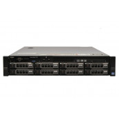 Server Dell PowerEdge R720, 2x Intel Xeon Octa Core E5-2670, 2.60GHz - 3.30GHz, 48GB DDR3 ECC, 2 x 1TB HDD SATA + 2 x 2TB HDD SATA, Raid Perc H710 mini, Idrac 7 Enterprise, 2 surse HS, Second Hand Servere second hand