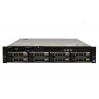 Server Dell PowerEdge R720, 2x Intel Xeon Octa Core E5-2670, 2.60GHz - 3.30GHz, 48GB DDR3 ECC, 2 x 1TB HDD SATA + 2 x 2TB HDD SATA, Raid Perc H710 mini, Idrac 7 Enterprise, 2 surse HS
