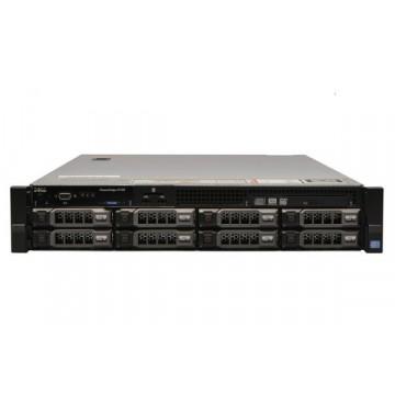 Server Dell PowerEdge R720, 2x Intel Xeon Octa Core E5-2670, 2.60GHz - 3.30GHz, 72GB DDR3 ECC, 2 x 2TB HDD SATA + 2 x 3TB HDD SATA, Raid Perc H710 mini, Idrac 7 Enterprise, 2 surse HS, Second Hand Servere second hand