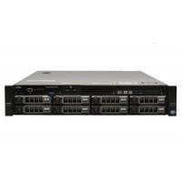 Server Dell PowerEdge R720, 2x Intel Xeon Octa Core E5-2670, 2.60GHz - 3.30GHz, 96GB DDR3 ECC, 2 x SSD 240GB SATA + 2 x 2TB HDD SATA + 2 x 3TB HDD SATA, Raid Perc H710 mini, Idrac 7 Enterprise, 2 surse HS