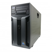 Server Dell PowerEdge T610 Tower, 2 x Intel Xeon Hexa Core X5650 2.66GHz - 3.06GHz, 16GB DDR3-ECC, Raid Perc 6i, 2 x 1TB HDD SATA, DVD-ROM, Idrac 6 Enterprise, 2 PSU Hot Swap, Second Hand Servere second hand