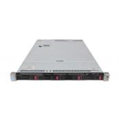Server HP ProLiant DL360 G9, 1U, 2x Intel (12 Core) Xeon E5-2673 V3 2.4 GHz, 32GB DDR4/2133P ECC Reg, 4 x 3TB HDD, Raid Controller HP P440ar/2GB, 4-port Ethernet 331i + 2-port InfiniBand FDR/Ethernet 40Gb 544+, iLO 4 Advanced, 2x Surse HS 1400W, Refurbish