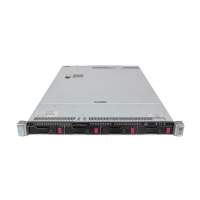 Server HP ProLiant DL360 G9 1U 2xIntel Xeon E5-2673 V3 2.4 GHz,64GB DDR4/2133P ECC Reg,4x4TB HDD, 2xSSD 512GB, Raid Controller HP P440ar/2GB,4-port Ethernet 331i+2-port InfiniBand FDR/Ethernet 40Gb 544+, iLO 4,2xSurse HS 1400W,Refurb
