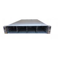 Server HP ProLiant DL380e G8, 2U, 2x Intel Octa Core Xeon E5-2450L 1.8 GHz-2.3GHz, 64GB DDR3 ECC Reg, 14 x 3,5 inch bays, no HDD, Raid Controller HP SmartArray P420/1GB, iLO 4 Advanced, 2x Surse Hot Swap 750W