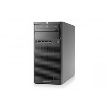 Server HP ProLiant ML110 G7 Tower, Intel Core i3-2120 3.30GHz, 8GB DDR3 ECC, RAID P212/256MB, HDD 1TB SATA, DVD-ROM, PSU 350W, Second Hand Servere second hand