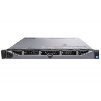 Server Refurbished Dell R620, 2 x Intel Xeon Hexa Core E5-2620 - 2.0GHz up to 2.5GHz, 48GB DDR3, 2 x HDD 600GB SAS/10K, Perc H310, 4 x Gigabit, 2 x PSU