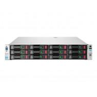 Server Refurbished HP ProLiant DL380e G8, 2U, 2x Intel Octa Core Xeon E5-2450L 1.8 GHz-2.3GHz, 16GB DDR3 ECC Reg, 2 x 450GB SAS/10K/2,5 on 3,5 adapter, Raid Controller HP SmartArray P420/1GB, iLO 4 Advanced, 2x Surse Hot Swap 750W