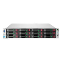Server Refurbished HP ProLiant DL380e G8, 2U, 2x Intel Octa Core Xeon E5-2450L 1.8 GHz-2.3GHz, 64GB DDR3 ECC Reg, 4 x 450GB SAS/10K/2,5 on 3,5 adapter, Raid Controller HP SmartArray P420/1GB, iLO 4 Advanced, 2x Surse Hot Swap 750W