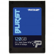 SSD Patriot Burst, 120GB, SATA-III, 3D NAND, 2.5 inch Componente Laptop