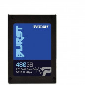 "SSD Patriot Burst 480GB, 2.5"", SATA 3, 560 MB/s Read, 540 MB/s Write Componente Laptop"