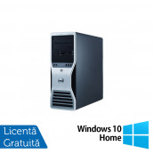 Workstation Dell T7400, 2x Intel Xeon Quad Core X5450 3.0Ghz, 16GB DDR2 ECC, 2x HDD 1TB SATA, DVD-RW, NVIDIA QUADRO FX4800 1,5GB GDDR3 + Windows 10 Home, Refurbished Workstation