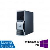 Workstation Dell T7400, 2x Intel Xeon Quad Core X5450 3.0Ghz, 16GB DDR2 ECC, 2x HDD 1TB SATA, DVD-RW, NVIDIA QUADRO FX4800 1,5GB GDDR3 + Windows 10 Pro, Refurbished Workstation