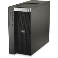 Workstation DELL Precision T7600 2 x Intel Xeon Octa Core E5-2687W 3.10GHz - 3.80GHz 20MB Cache, 64GB DDR3 ECC, SSD 240GB + HDD 2TB SATA, RAID PERC H200, nVidia Quadro K2000 2GB
