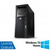 Workstation HP Z220 Tower, Intel Dual Core i3-2100 3.10GHz, 4GB DDR3, HDD 500GB SATA, Intel Integrated HD Graphics 2000, DVD-RW + Windows 10 Home, Refurbished Workstation