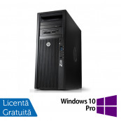 Workstation HP Z220 Tower, Intel Dual Core i3-2100 3.10GHz, 4GB DDR3, HDD 500GB SATA, Intel Integrated HD Graphics 2000, DVD-RW + Windows 10 Pro, Refurbished Workstation