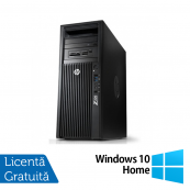 Workstation HP Z220 Tower, Intel Xeon Quad Core E3-1230 3.20Ghz - 3.60Ghz, 8GB DDR3, HDD 500GB SATA, DVD-RW, NVIDIA Quadro NVS315/1GB + Windows 10 Home, Refurbished Workstation