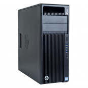 Workstation HP Z440, Intel Xeon Hexa Core E5-1650 V3 3.50GHz - 3.80GHz, 16GB DDR4 ECC, 240GB SSD, nVidia Quadro K620/2GB, Second Hand Workstation