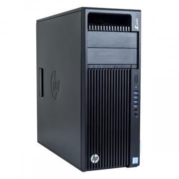 Workstation HP Z440, Intel Xeon Hexa Core E5-1650 V3 3.50GHz - 3.80GHz, 8GB DDR4 ECC, 120GB SSD, Placa video Gaming AMD Radeon R7 350 4GB GDDR5 128-Bit, Second Hand Workstation