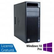 Workstation HP Z440, Intel Xeon Quad Core E5-1620 V3 3.50GHz - 3.60GHz, 16GB DDR4 ECC, 256GB SDD + 3TB HDD, nVidia Quadro K2200/4GB GDDR5 + Windows 10 Pro, Refurbished Workstation