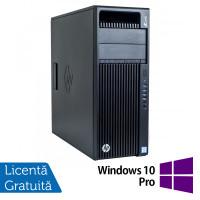 Workstation HP Z440, Intel Xeon Quad Core E5-1620 V3 3.50GHz - 3.60GHz, 16GB DDR4 ECC, 256GB SDD + 3TB HDD, nVidia Quadro K2200/4GB GDDR5 + Windows 10 Pro