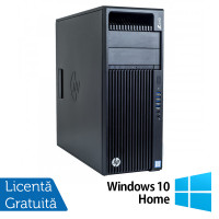Workstation HP Z440, Intel Xeon Quad Core E5-1620 V3 3.50GHz - 3.60GHz, 16GB DDR4 ECC, 256GB SDD + 4TB HDD, nVidia Quadro K2200/4GB GDDR5 + Windows 10 Home