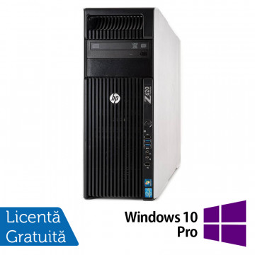 Workstation HP Z620, 1x Intel Xeon E5-1620 3.60GHz-3.80GHz Quad Core 10MB Cache, 32GB DDR3 ECC, 240GB SSD + 1TB HDD, nVidia Quadro 4000/2GB GDDR5 + Windows 10 Pro, Refurbished Workstation