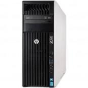 Workstation HP Z620 Tower, 2x Intel Xeon HEXA Core E5-2667 2.90-3.50GHz, 64GB DDR3 ECC, 2TB HDD + 480GB SSD NOU, nVidia Quadro K5000/4GB GDDR5, Second Hand Workstation