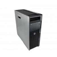 Workstation HP Z620 Tower, 2x Intel Xeon HEXA Core E5-2667 2.90-3.50GHz, 64GB DDR3 ECC, 2TB HDD + 480GB SSD NOU, nVidia Quadro K5000/4GB GDDR5