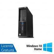 Workstation HP Z230 SFF, Intel Xeon Quad Core E3-1231 v3 3.40GHz-3.80GHz, 16GB DDR3, 1TB SATA, DVD-RW, nVidia Quadro K620/2GB + Windows 10 Home, Refurbished Workstation
