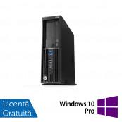 Workstation HP Z230 SFF, Intel Xeon Quad Core E3-1231 v3 3.40GHz-3.80GHz, 16GB DDR3, 1TB SATA, DVD-RW, nVidia Quadro K620/2GB + Windows 10 Pro, Refurbished Workstation