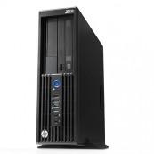 Workstation HP Z230 SFF, Intel Xeon Quad Core E3-1231 v3 3.40GHz-3.80GHz, 8GB DDR3, 500GB SATA, DVD-RW, Placa video Gaming AMD Radeon R7 350 4GB GDDR5 128-Bit, Second Hand Workstation