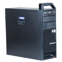 Workstation Lenovo S10, Intel Core 2 Quad Q9550 2.83GHz, 8GB DDR3, 500GB SATA, Placa video Nvidia Quadro FX370 256MB, DVD-RW