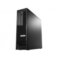 Workstation Lenovo ThinkStation C30 Tower, Intel Xeon E5-2620 V2 2.10 - 2.60GHz Hexa Core, 24GB DDR3, 480GB SSD, nVidia Quadro 410/512MB, DVD-RW