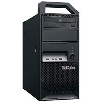 Workstation Lenovo ThinkStation E30 Tower, Intel Xeon Quad Core E3-1220 3.10GHz-3.40GHz, 8GB DDR3, 1TB SATA, Placa video Gaming AMD Radeon R7 350 4GB GDDR5 128-Bit, DVD-ROM